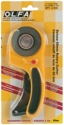 083028 Olfa Deluxe Rotary Cutter 60mm