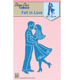 SDB031  Nellie's Choice Shape Dies Fall in Love