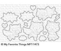 MFT-1473 My Favorite Things Super Cat Die-Namics