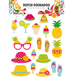 474.007.011 Dutch DooBaDoo Dutch Paper Art Summer elements