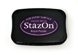 SZ101 StazOn Royal Purple