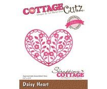 CC-501 Scrapping Cottage Daisy Heart