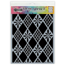 DYS75318 Ranger Dylusions Stencils Diamond Are Forever Large