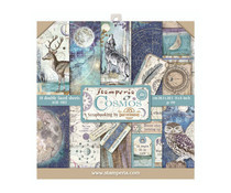 SBBS11 Stamperia Cosmos 8x8 Inch Paper Pack
