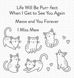 CS-533 My Favorite Things Mini Meows Clear Stamps