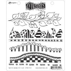 222422 Dyan Reaveley's Dylusions Cling Stamp Further Around The Edge