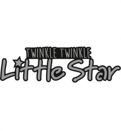 CR1328 - Craftables - Twinkle, twinkle little star