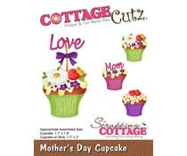 CC-463 Scrapping Cottage Mother's Day Cupcake