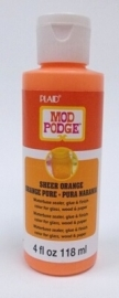 PECS15100 Mod Podge Sheer Color Brown 4 oz