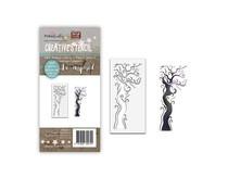 PD8101 Polkadoodles Creepy Tree Stencil