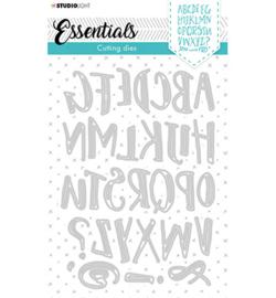 STENCILSL391 StudioLight Cutting Die Alphabet Mixed Media Essentials nr.391