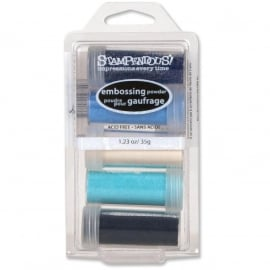112274 Stampendous Embossing Powder Kit Submerge