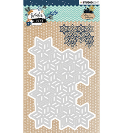 STENCILWJ231 StudioLight Embossing Die, Winter Joys nr.231
