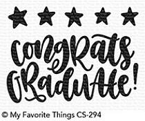 CS-294 My Favorite Things Star Graduate Clear Stamps