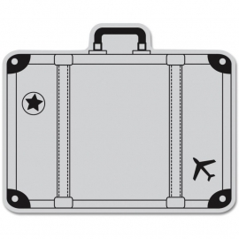 HA-CG508 Hero Arts Cling Stamps Big Suitcase