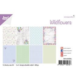 6011/0665 Joy!Crafts Wild flowers