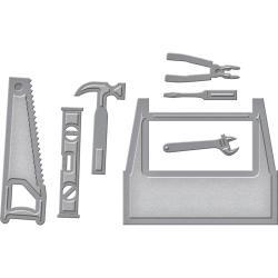 S3262 Spellbinders Shapeabilities Die D-Lites Toolbox