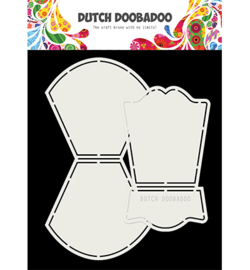 470.713.762 Dutch DooBaDoo Card Art Wobble Los 2 delig A5
