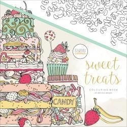 275667 KaiserColour Perfect Bound Coloring Book Sweet Treats