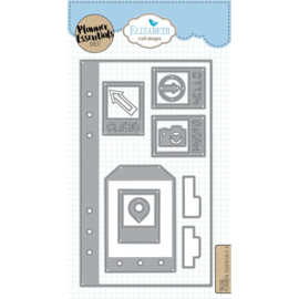 EC1606 Elizabeth Craft Metal Die Planner Essentials 4