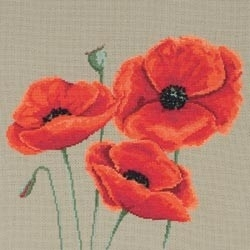 480298 Borduurpakket Poppies