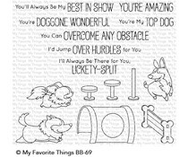 BG-69 My Favorite Things Best in Show Clear Stamps
