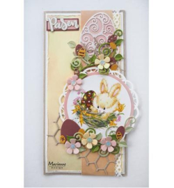 COL1425 Marianne Design Collectables Easter eggs