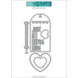 562522 Concord & 9th Dies Little Love Tags