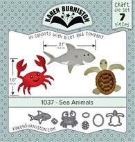 KBR1037 Karen Burniston Dies Sea Animals