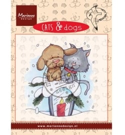 CD3503 Cats & Dogs Candle light