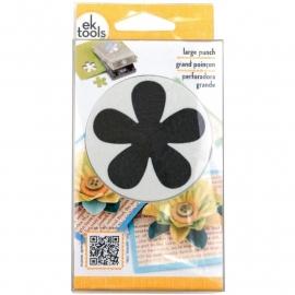 "E5430106 EK Success Slim Paper Punch Large Retro Flower Approx. 2"""