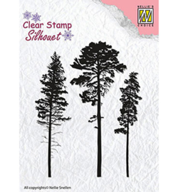 SIL037 Stempel 3 Pinetrees