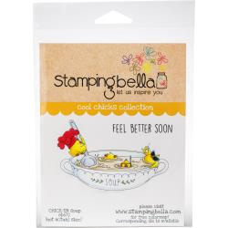 447036 Stamping Bella Cling Stamps Chick-en Soup