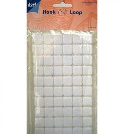 6500/0080 Klittenband Vierkant