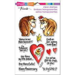 552969 Stampendous Perfectly Clear Stamps Gorilla Love