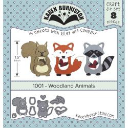 KBR1001 Karen Burniston Dies Woodland Animals