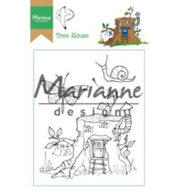 HT1642 Marianne Design Hetty's Tree house