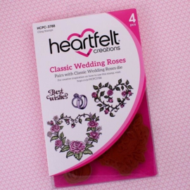 **Heartfeld Creations stempel Classic Wedding Roses