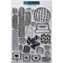 """337026 Concord & 9th Clear Stamps Stuck On You 6""""X8"""""""