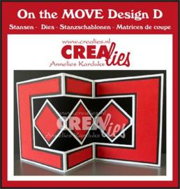 CLMOVE05 Crealies On The Move Design D