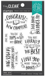 """652515 Hero Arts Clear Stamps Literally The Best 4""""X6"""""""