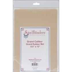 "GC006 Spellbinders Grand Calibur Rubber Mat 8.5""X12"""