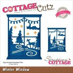 "506483 CottageCutz Elites Die Winter Window 3""X3.8"""