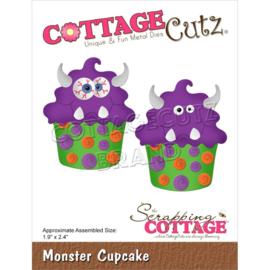 """CC812 CottageCutz Dies Monster Cupcake 1.9""""X2.4"""""""