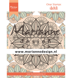 CS1035 Clear stamp Mandala Delhi