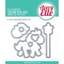 541768 Elle-Ments Dies Christmas Magic