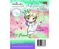PD7709 Polkadoodles Ula Be a Princess Clear Stamps