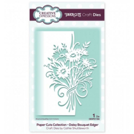 CEDPC1164  Creative expressions Craft die edger Daisy bouquet