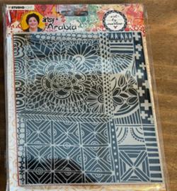 TPBM03 Art By Marlene Texture Plates Artsy Arabia, nr.03