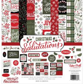 "659937 Echo Park Collection Kit Salutations Christmas 12""X12"""
